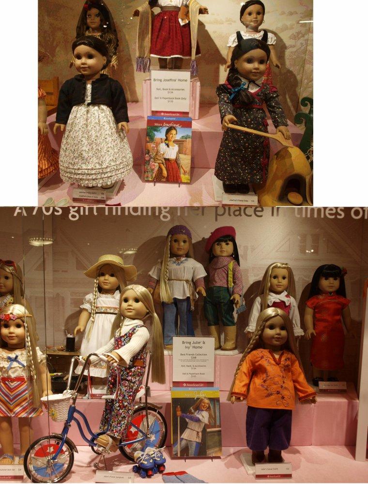 MA POUPEE AMERICAN GIRL / AMERICAN GIRL DOLL .....