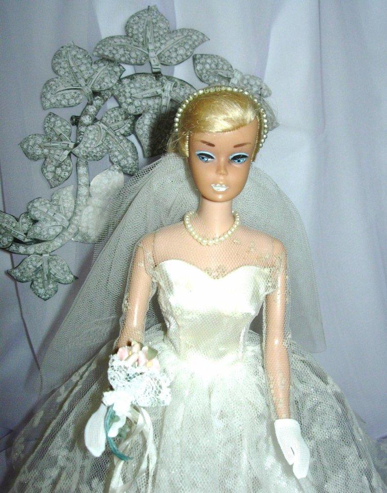 BARBIE VINTAGE SWIRL : WEDDING DAY SET ...