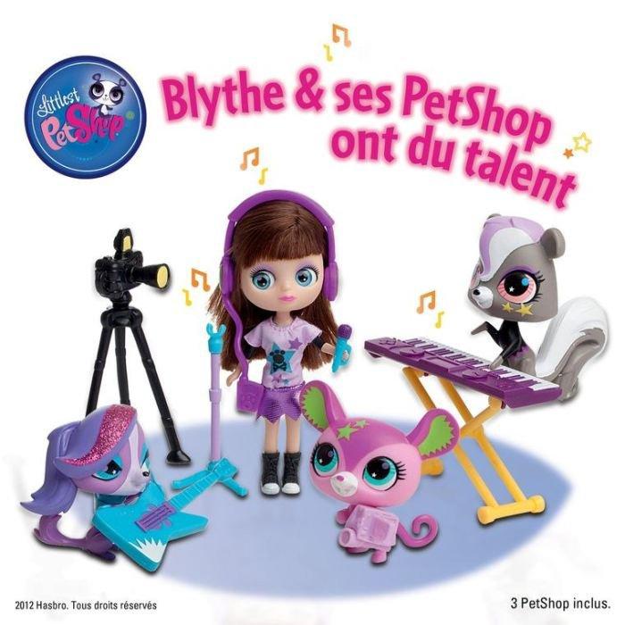 """LPS - Blythe et les Petshop """"Ont du talent"""" ..."""