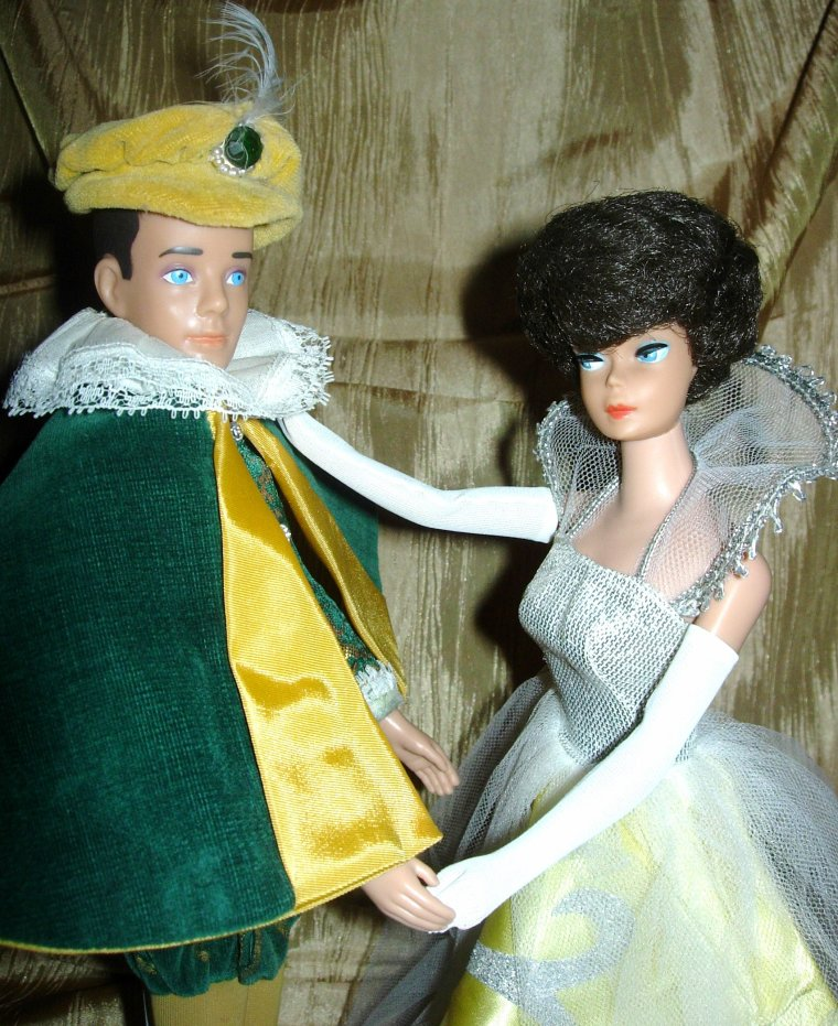 "BARBIE & KEN VINTAGE : ""CINDERELLA"" - ""THE PRINCE"" ..."