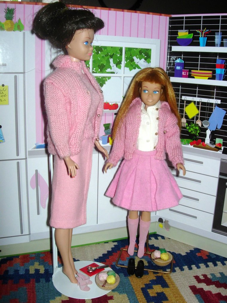 "VINTAGE BARBIE / ANCIENNE SKIPPER : ""School Day"""