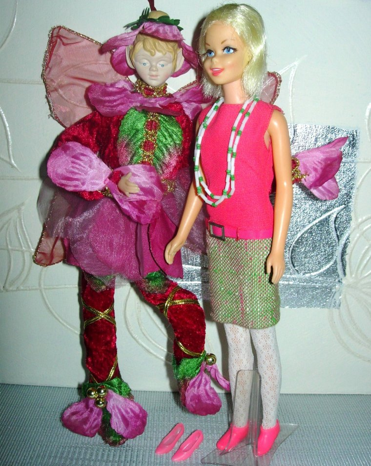 "Vintage Casey - Francie & Barbie's friend : ""Tweed Somes"""
