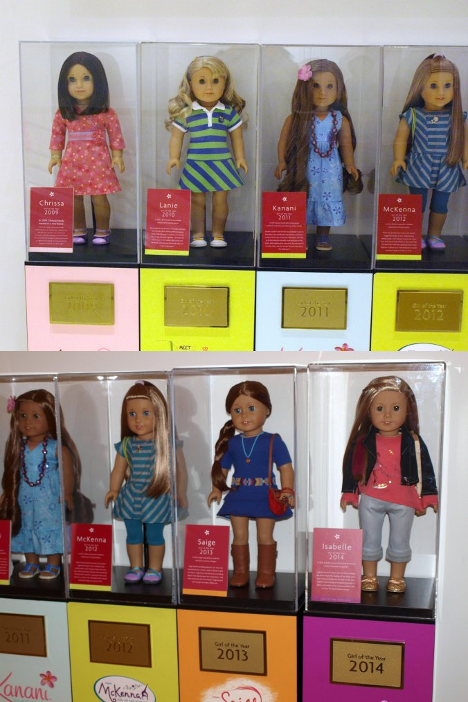AMERICAN GIRL DOLL : GRACE, DOLL OF THE YEAR 2015 ...