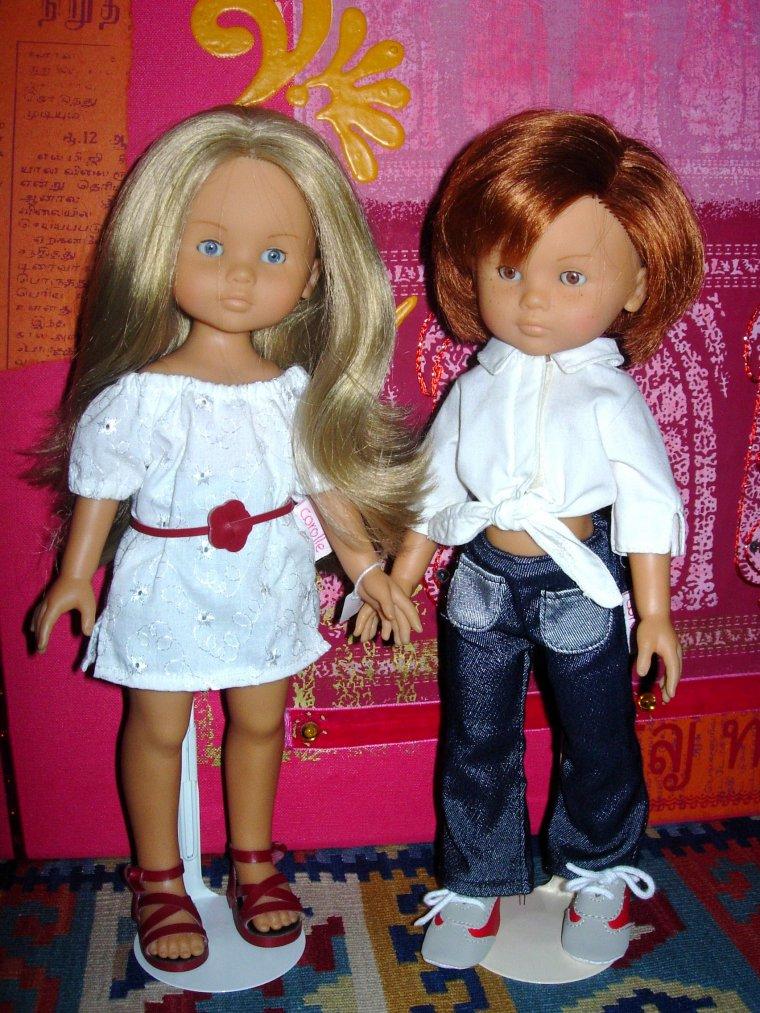 COROLLE 2004 : LES CHERIES : CAMILLE et CLARA ROMANTIQUES ...