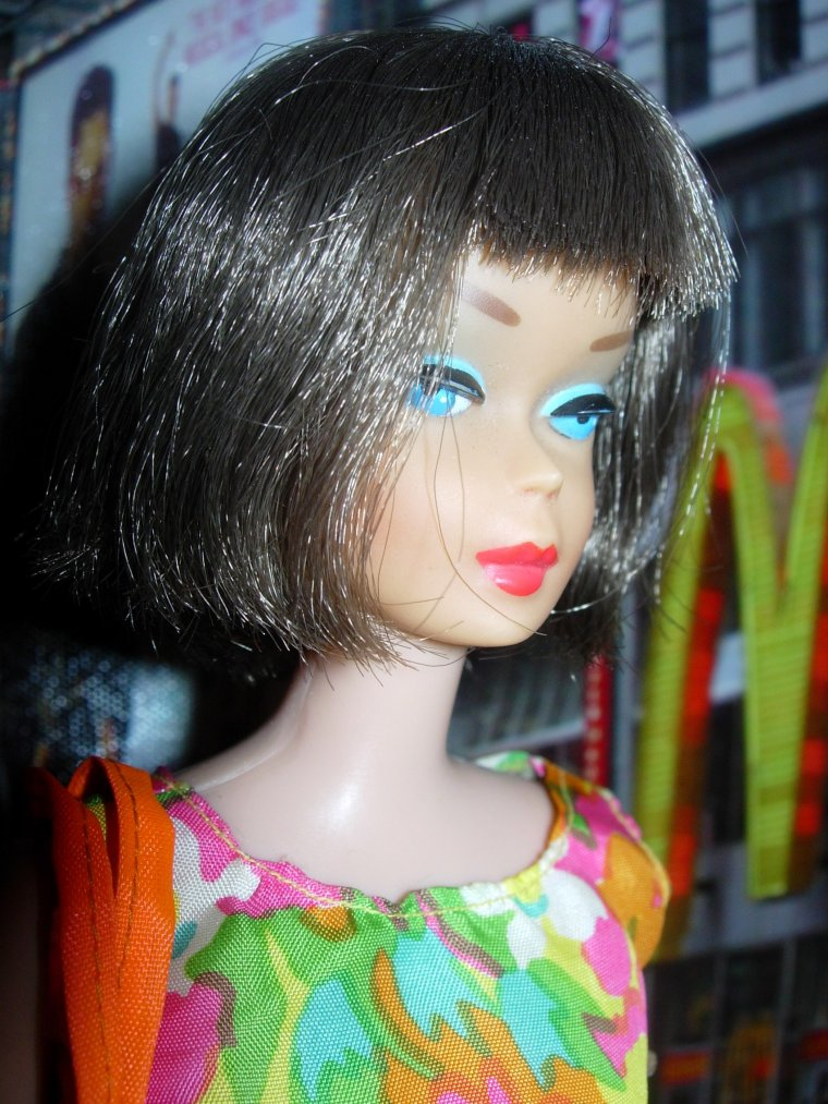 "BARBIE VINTAGE AMERICAN GIRL "" HIGH COLOR"" : ""Bouncy Flouncy"" ..."