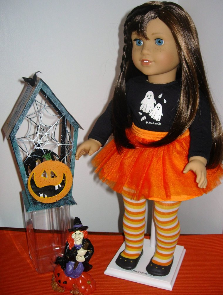 GRACE, MON AMERICAN GIRL FETE HALLOWEEN ...