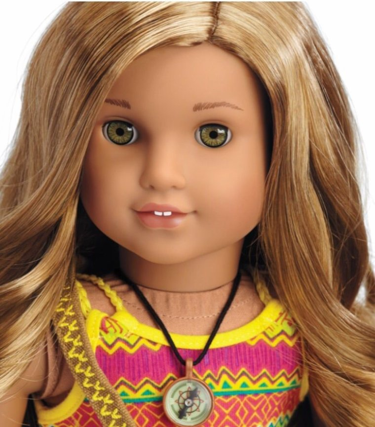 "POUPEE AG - AMERICAN GIRL DOLL - ""LEA"" DOLL OF THE YEAR 2016 ..."