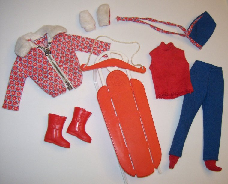 "BARBIE VINTAGE - KEN ANCIEN : ""CHAMPION SKI"" & ""SKI QUEEN"" ..."
