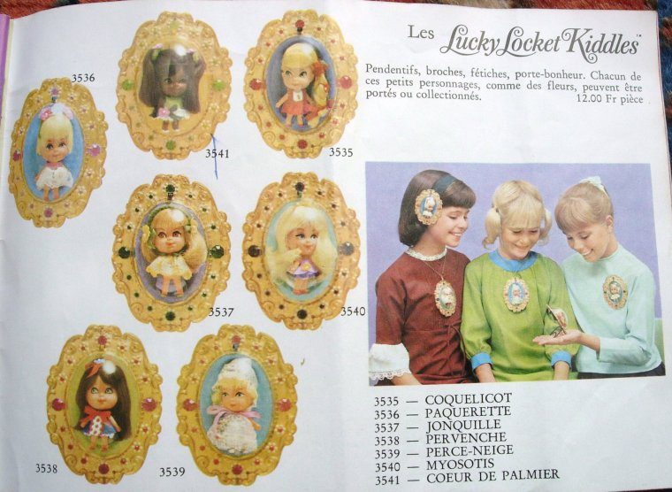 MATTEL : LIDDLE KIDDLES DOLLS ...
