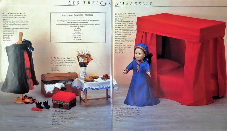 L'INCROYABLE MIX AMERICAN GIRL / MODES & TRAVAUX !!!