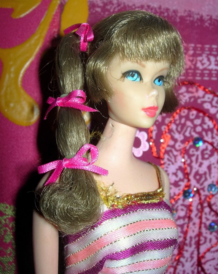 "BARBIE VINTAGE ""AMERICAN GIRL"" & TNT - FRANCIE - BELLA CATHIE & TRESSY - GEGE DOLLY"