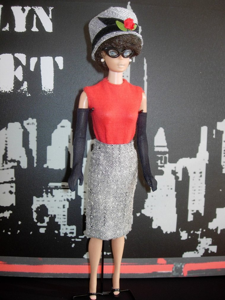 "BARBIE VINTAGE - TENUE ANCIENNE ""CAREER GIRL"" (1963-1964)"