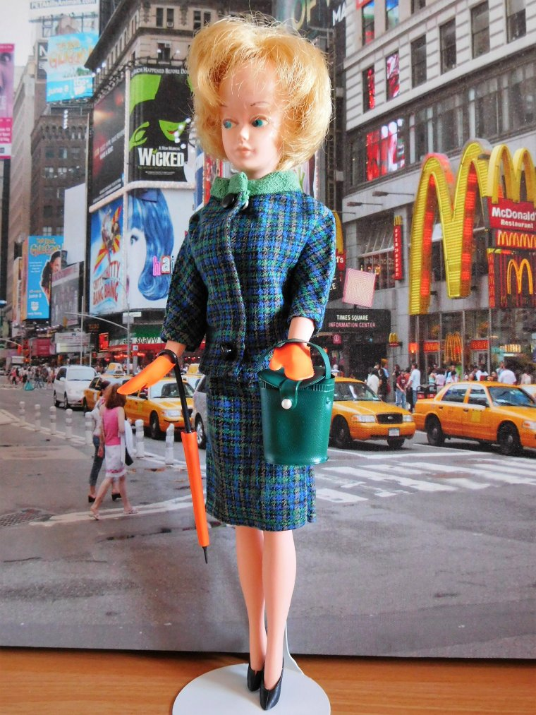 "VINTAGE TRESSY PALITOY ""SHOPPING EN VILLE"""