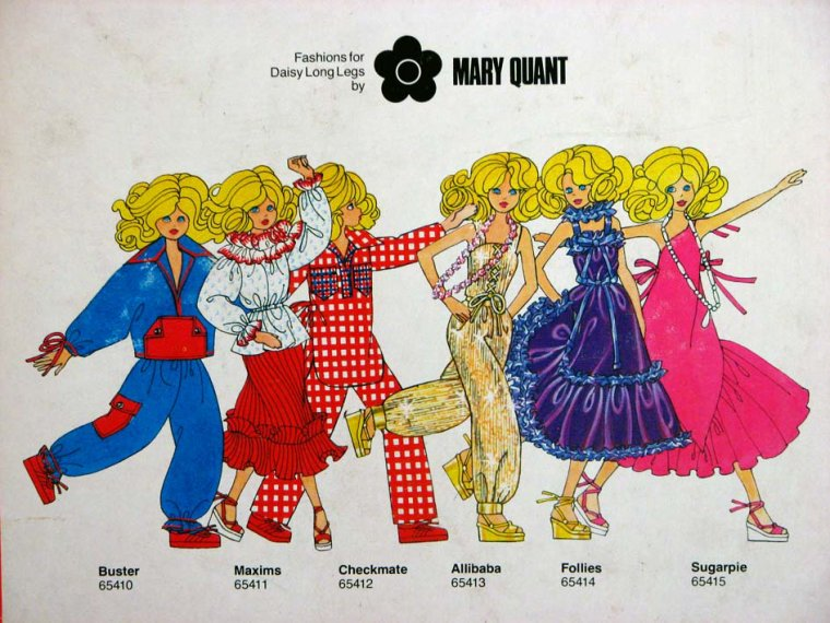 """UNE POUPEE HAUTE COUTURE """"DAISY"""" - LE MANNEQUIN DE MARY QUANT ..."""