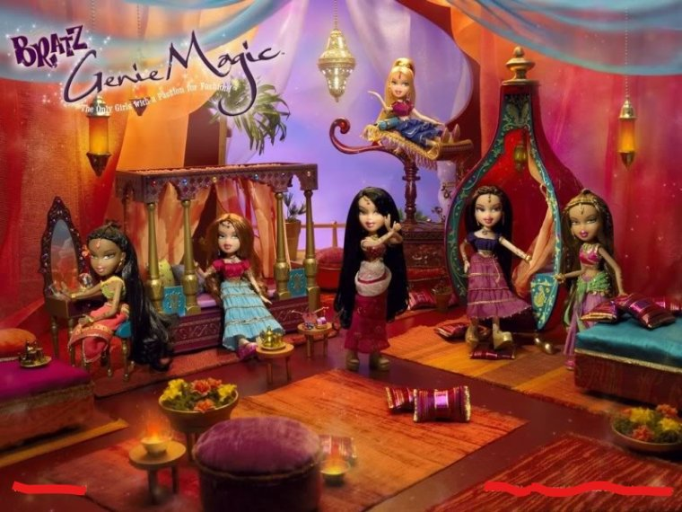 "BRATZ DOLL COLLECTION - POUPEE YASMIN ""GENIE MAGIC"""