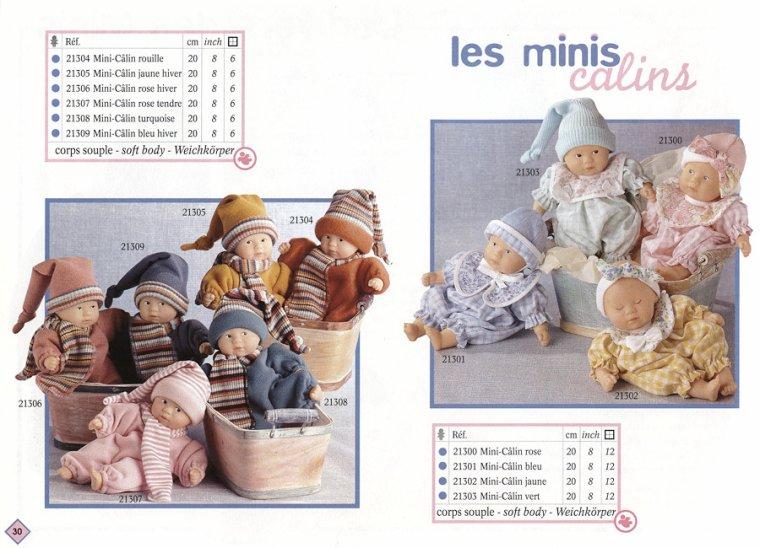 """COROLLE """"MINI CALIN"""" 20 cm - Yeux Clos - 1997 ..."""