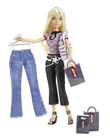 "POUPEE BARBIE MY SCENE ""SHOPPING SPREE"" - BARBIE DOLL ""JEANS LEVIS"" ..."