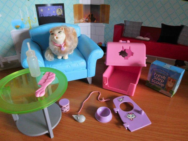 "BARBIE 2000 - COFFRET ""KITTY FUN"" - CAT MARSHMALLOW ..."