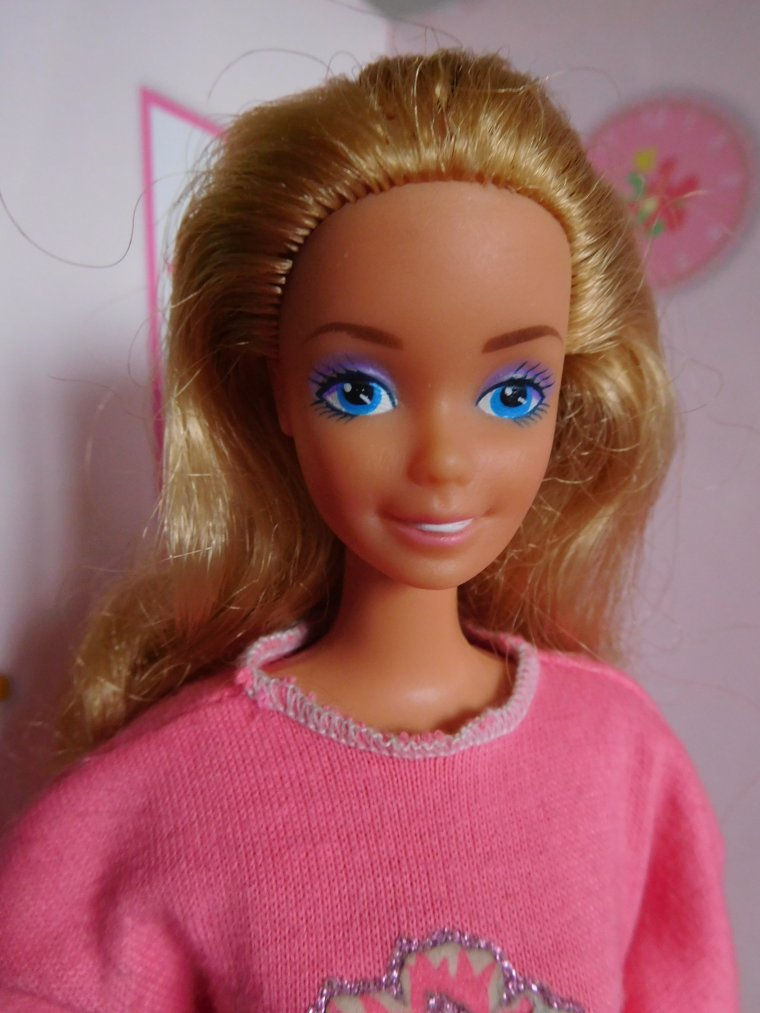 "BARBIE ""MY FIRST"" DOLL - HABILLAGE MINUTE - 1987"