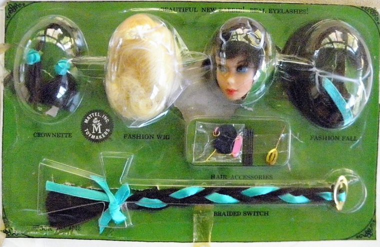 "BARBIE VINTAGE TNT ""HAIR FAIR - ANCIENNE TENUE ""SUNFLOWER"" - 1967-1968"