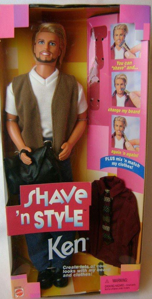 VINTAGE KEN SHAVE'n STYLE de 1999 ...
