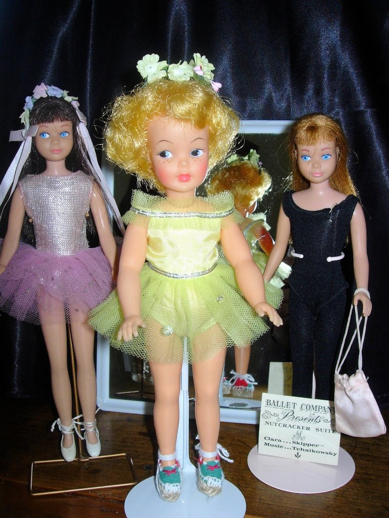 "VINTAGE BARBIE LITTLE SISTER - SKIPPER ""BALLET CLASS"" ..."
