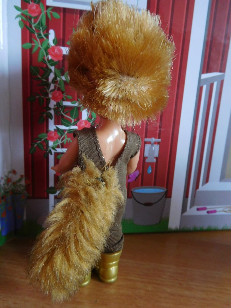 BARBIE DOLL : TOMMY AS IVAN THE PORCUPINE ...
