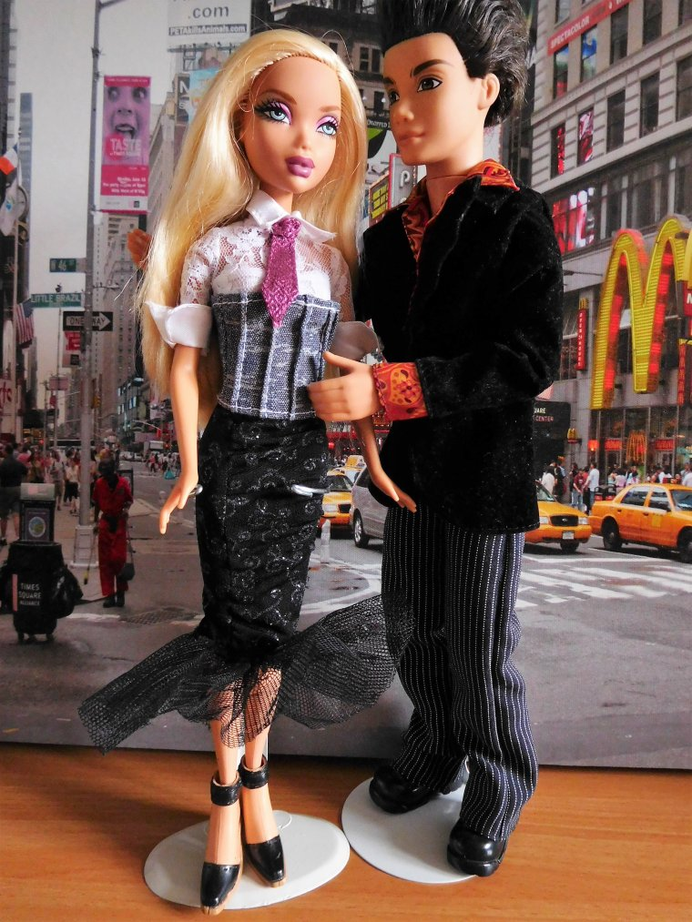 "SAINT VALENTIN CHEZ LES BARBIE ""MY SCENE"" ..."
