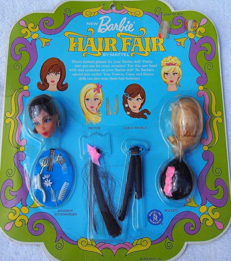 """BARBIE VINTAGE TNT """"HAIR FAIR"""" de 1969"""
