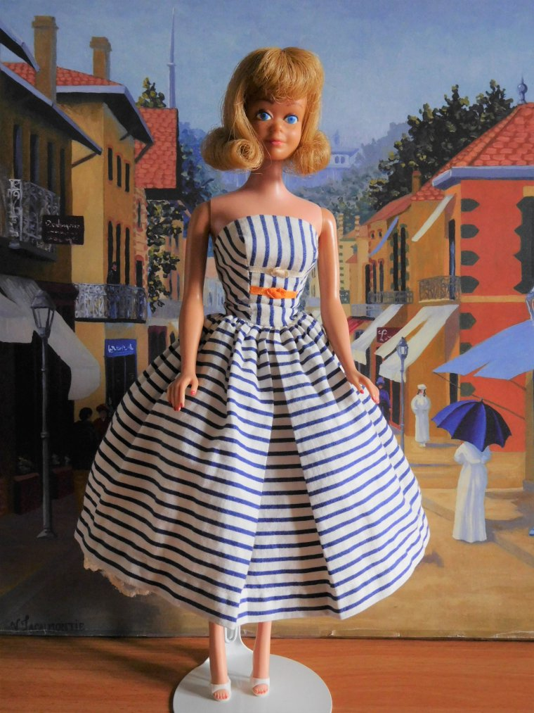 "BARBIE DOLL VINTAGE PONYTAIL ""COTTON CASUAL"" - 1959/1963 ..."