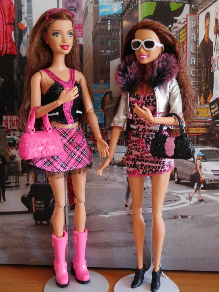 "BARBIE FASHIONISTAS ""SWAPPIN STYLE"" - SASSY ROCK ..."