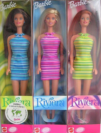 "BARBIE ""RIVIERA"" de 1999"