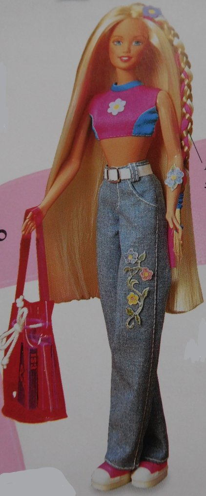 "BARBIE DOLL - TEEN SKIPPER ""YOYO"" - 1998 :"