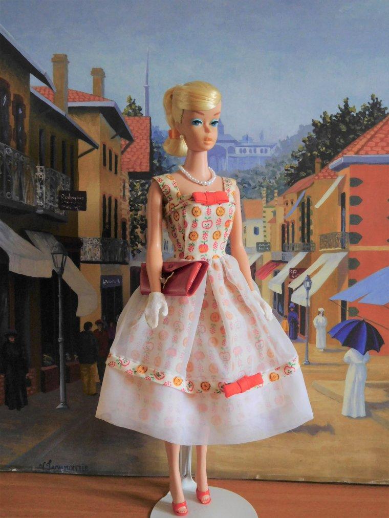 "VINTAGE BARBIE SWIRL - ANCIENNE TENUE ""LUNCH DATE"" - 1964 ..."