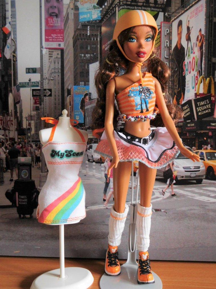 "BARBIE MY SCENE SERIE - ""ROLLER GIRL"" de 2007-"