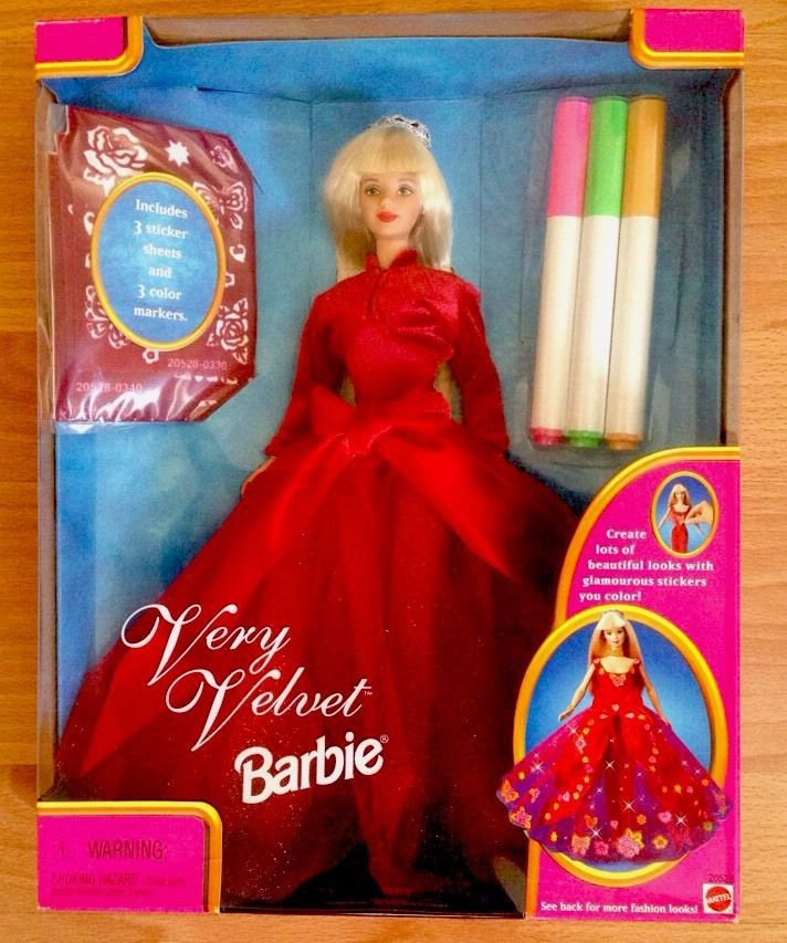 VERY VELVET BARBIE 1998