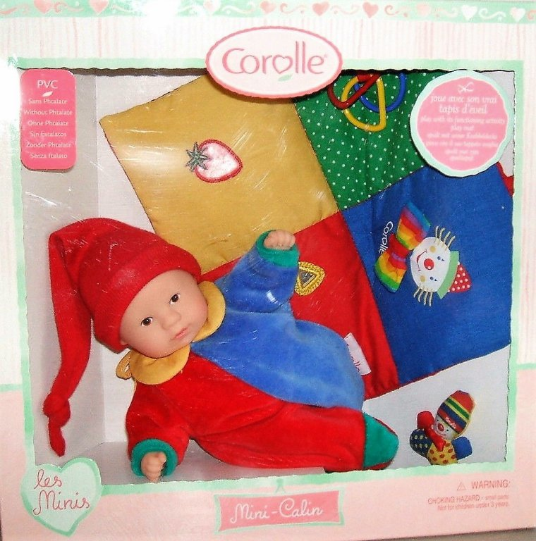 "COROLLE MINI CALIN ""NICOLAS"" - CATALOGUE 2001 :"