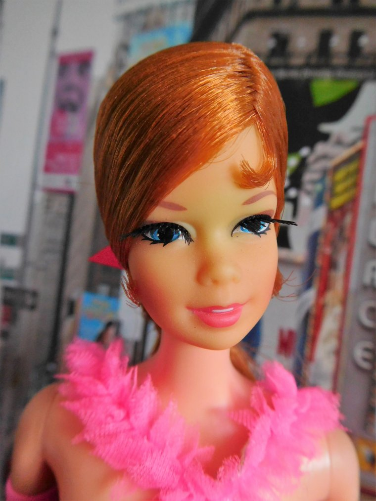 "BARBIE MOD VINTAGE / STACEY TNT ANCIENNE 1968 ""EXTRAVAGANZA"" ..."