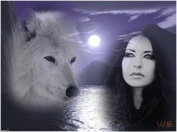 voyage de l'homme et du loup
