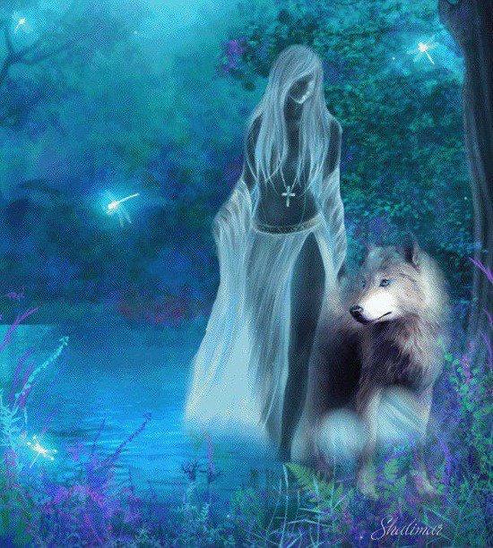 la protectrice des loup