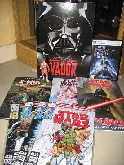 Achats de Septembre, Octobre 2010 et 4ème envoi pour la collection Star Wars Comics Collector