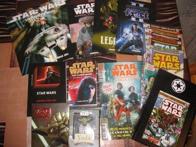 Achats de Novembre, Decembre 2010 et 5ème envoi pour la collection Star Wars Comics Collector