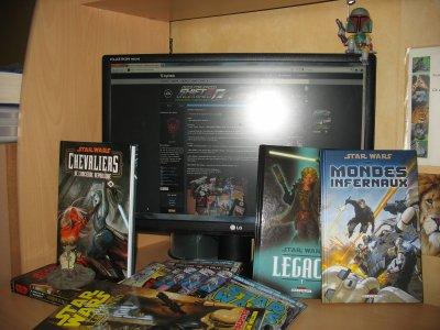 Achats de Janvier, Février et Mars 2011 et 2 envois pour la collection Star Wars Comics Collector