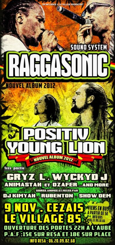 RAGGASONIC . POSITIV YOUNG LION ...