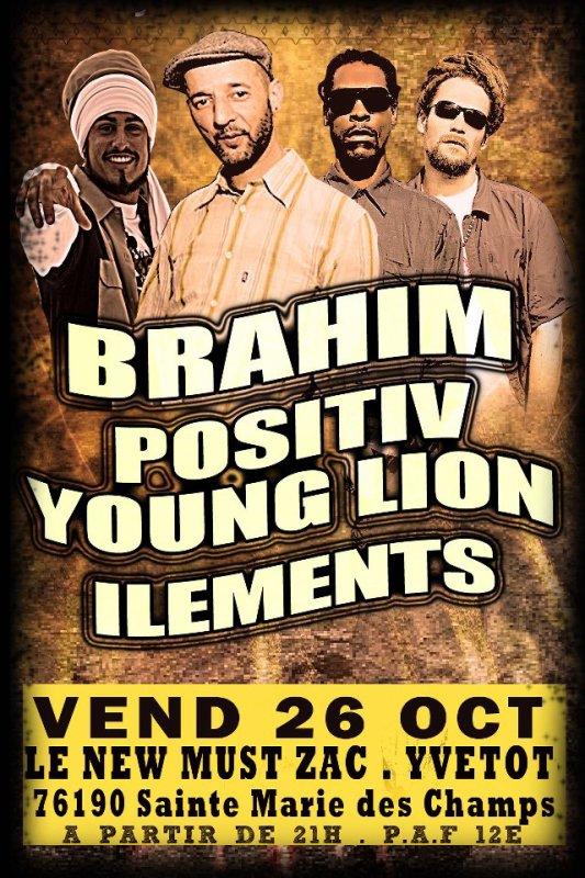 BRAHIM . POSITIV YOUNG LION . ILEMENTS