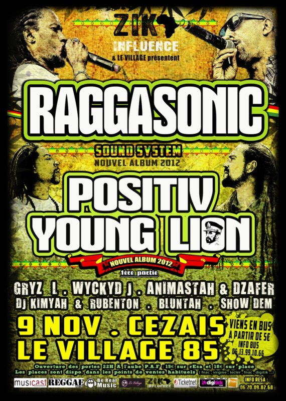 RAGGASONIC . POSITIV YOUNG LION and more ...