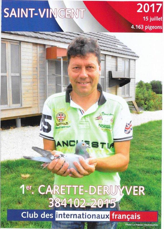 Félicitations à notre Tandem Carette - Deruyver !!!!!!!