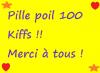 100 kiffs !!