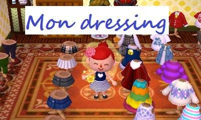 Mon dressing !
