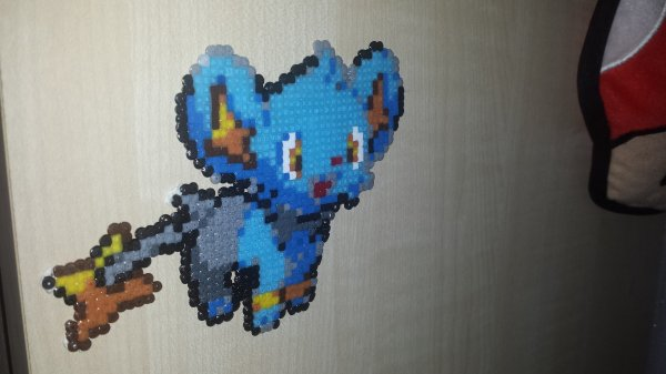 pokemon Lixy shinx. (Mini)